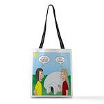 Popcorn Igloo Polyester Tote Bag