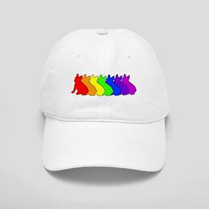 Rainbow Frenchie Cap