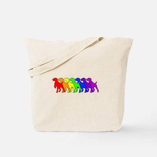 Rainbow GSP Tote Bag