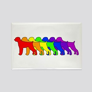 Rainbow GWP Rectangle Magnet