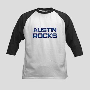austin rocks Kids Baseball Jersey