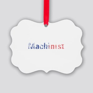 Machinist Picture Ornament