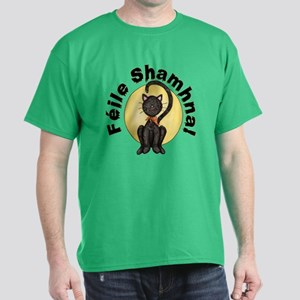 Gaelic Black Cat Dark T-Shirt