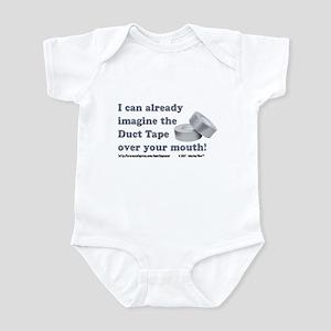 Duct Tape Infant Bodysuit