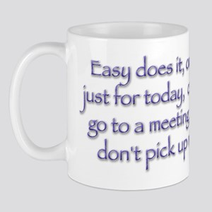 Easy does it! Mug