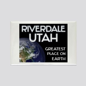 riverdale utah - greatest place on earth Rectangle