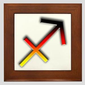 Sagittarius - Sign of the Archer Framed Tile