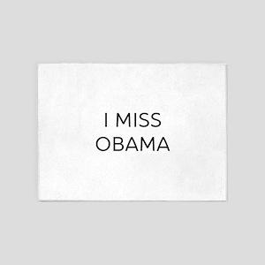 I Miss Obama 5'x7'Area Rug