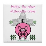 Pork Tile Coaster