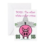Pork Greeting Cards (Pk of 10)