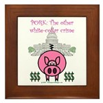 Pork Framed Tile