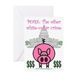 Pork Greeting Card