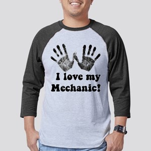 mechanic love Mens Baseball Tee