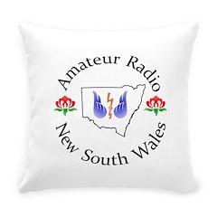 Amateur Radio NSW Logo Everyday Pillow