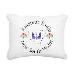 Amateur Radio NSW Logo Rectangular Canvas Pillow
