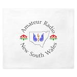 Amateur Radio NSW Logo King Duvet