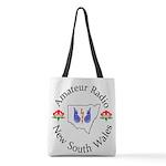 Amateur Radio NSW Logo Polyester Tote Bag