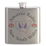 Amateur Radio NSW Logo Flask