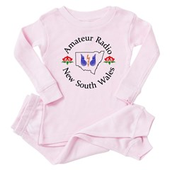 Amateur Radio NSW Logo Baby Pink Pajamas