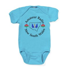 Amateur Radio NSW Logo Body Suit