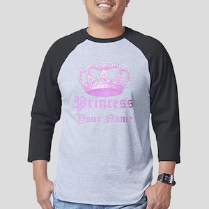 Custom Princess Mens Baseball Tee