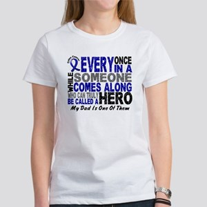 HERO Comes Along 1 Dad CC Women's T-Shirt