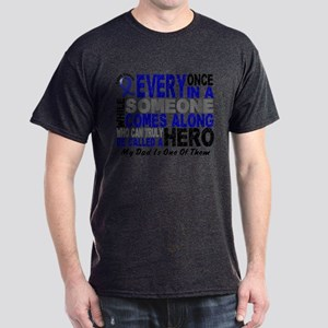 HERO Comes Along 1 Dad CC Dark T-Shirt