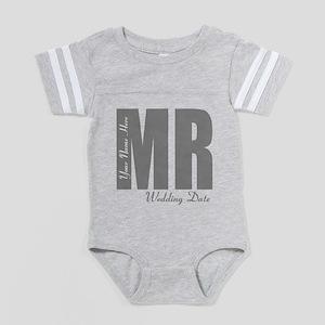 Wedding Groom Baby Football Bodysuit