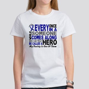 HERO Comes Along 1 Daddy CC Women's T-Shirt