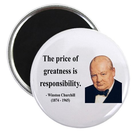 Winston Churchill 18 Magnet