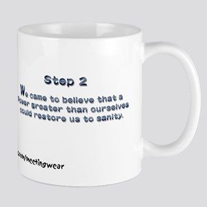 """Step 2"" Recovery Mug"