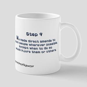 """Step 9"" Recovery Mug"