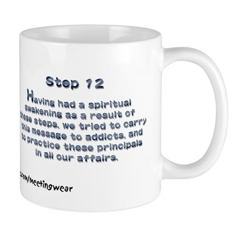 """Step 12"" Recovery Mug"