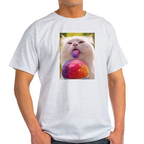 Colorful Kitty Light T-Shirt