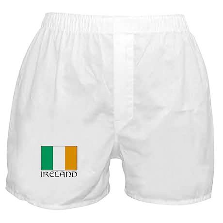 """""""Ireland Flag"""" Boxer Shorts"""