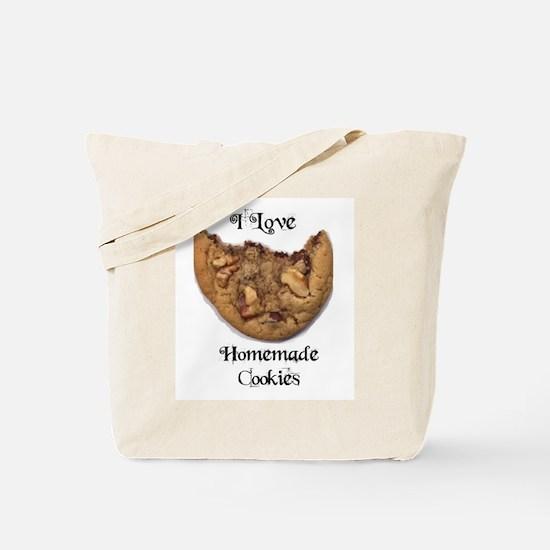 I LOVE HOMEMADE COOKIES Tote Bag