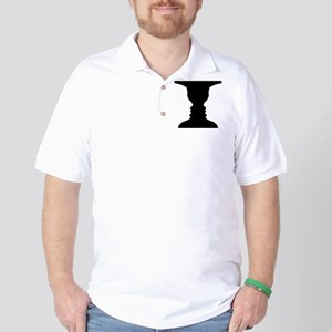 Rubin vase Golf Shirt