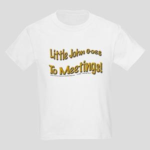 """John goes to meetings!"" Kids T-Shirt"