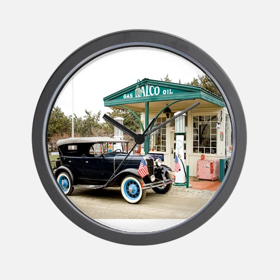 Unique Old cars Wall Clock