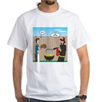 Unsafe Turkey Frying Men's Classic T-Shirts