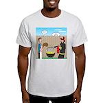 Unsafe Turkey Frying Light T-Shirt