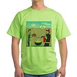 Unsafe Turkey Frying Green T-Shirt