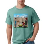 Unsafe Turkey Frying Mens Comfort Colors® Shirt