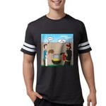 Unsafe Turkey Frying Mens Football Shirt