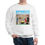 Unsafe Turkey Frying Sweatshirt