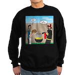 Unsafe Turkey Frying Sweatshirt (dark)