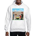 Unsafe Turkey Frying Hooded Sweatshirt