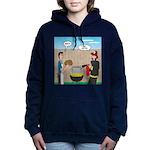 Unsafe Turkey Frying Women's Hooded Sweatshirt