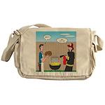 Unsafe Turkey Frying Messenger Bag