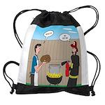 Unsafe Turkey Frying Drawstring Bag